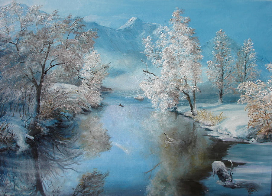 Quiet Ice by sorinapostolescu