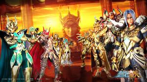 Saint Seiya Legend of Sanctuary Gold Wallpaper