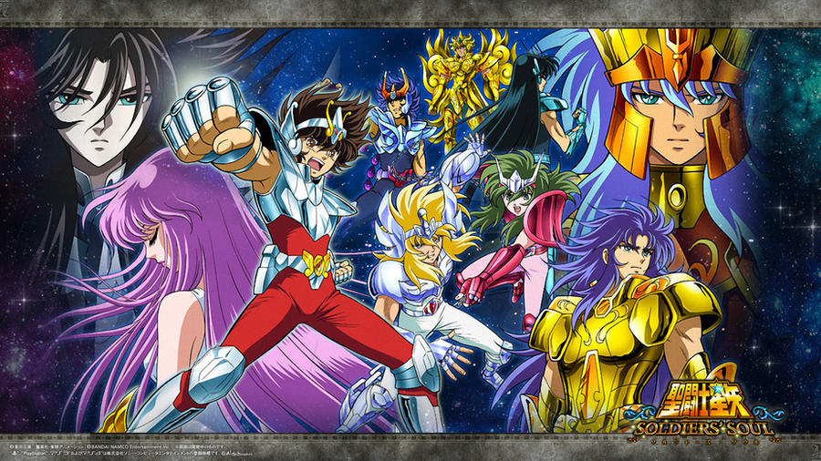 Saint Seiya Soldier's Soul Wallpaper 01 by SaintAldebaran on ...