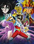 Saint Seiya Soldiers Soul Poster 01