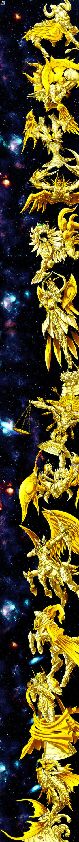 Saint Seiya Soul of Gold - Gold God Cloths by SaintAldebaran