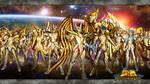 Saint Seiya Soldiers Soul Wallpaper Gold Saints