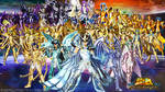Saint Seiya Soldiers Soul Wallpaper ALL CHARACTERS