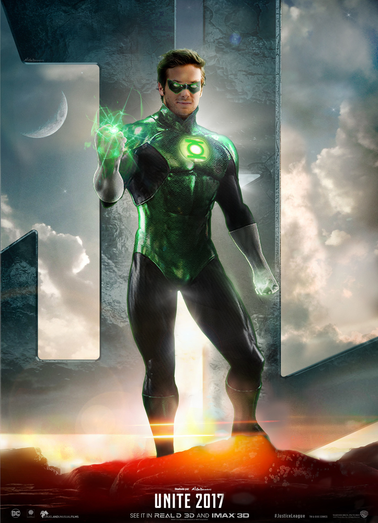 Justice League Movie Poster ( Green Lantern ) by ...