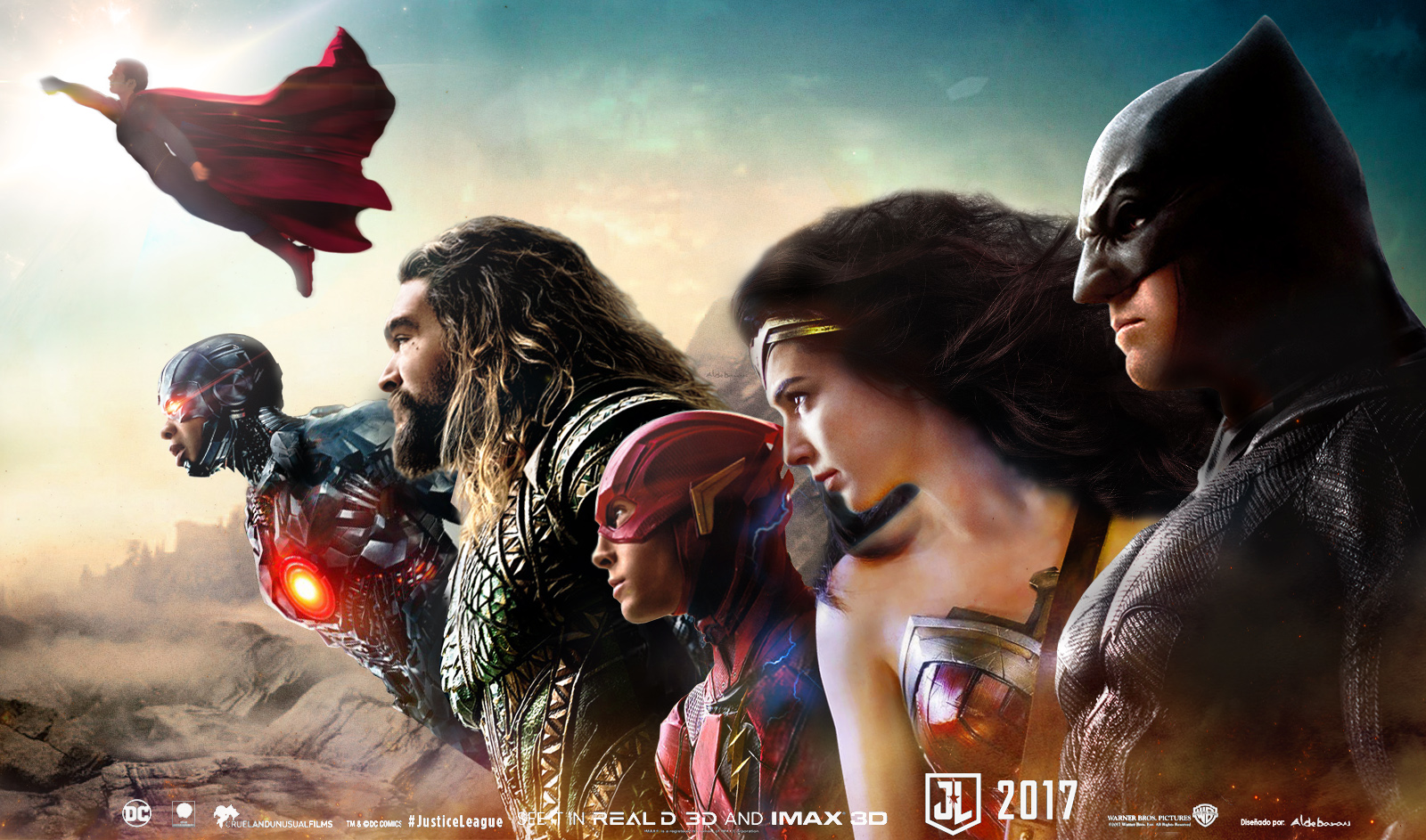 Justice league movie banner 2 by saintaldebaran on deviantart for Craft fairs near me november 2017