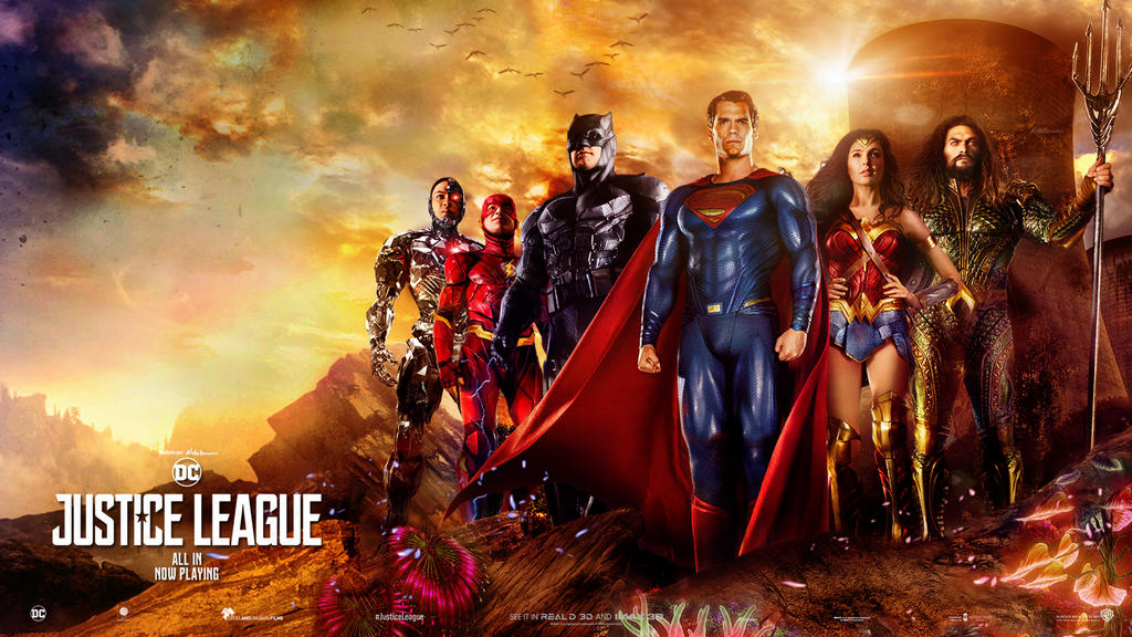 Justice League Wallpaper - The Victorious JL by SaintAldebaran