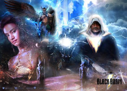 Black Adam Movie Poster