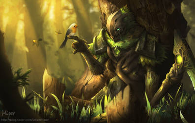 Elderwood FiddleSticks by KORHIPER