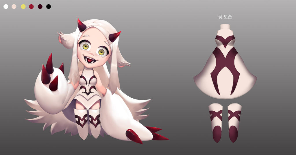 Character Design by KORHIPER