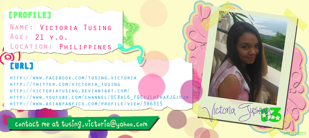My Profile by victoriatusing