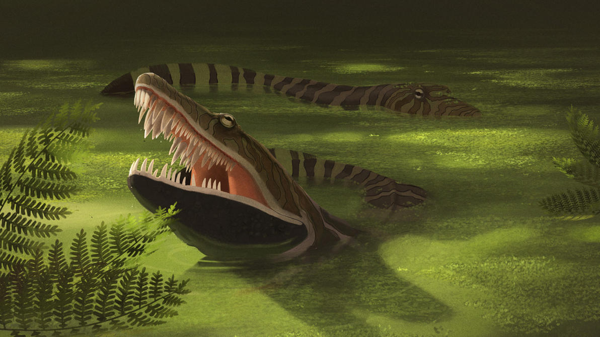 Anthracosaurus russeli by jconway