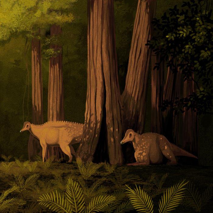 Corythosaurus casuarius by jconway