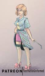 50s Housewife Dominatrix by IanCookeTapia