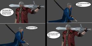 Injustice Clash: Dante vs Vergil
