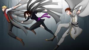 Mistborn - Kelsier, Vin and Elend