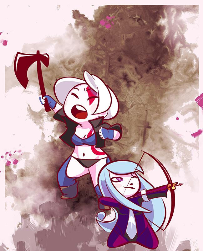 Angel and Kula by Diavle