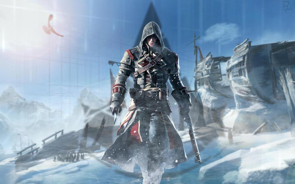 Wallpaper Assassin's Creed Rogue By Fardoves On DeviantArt