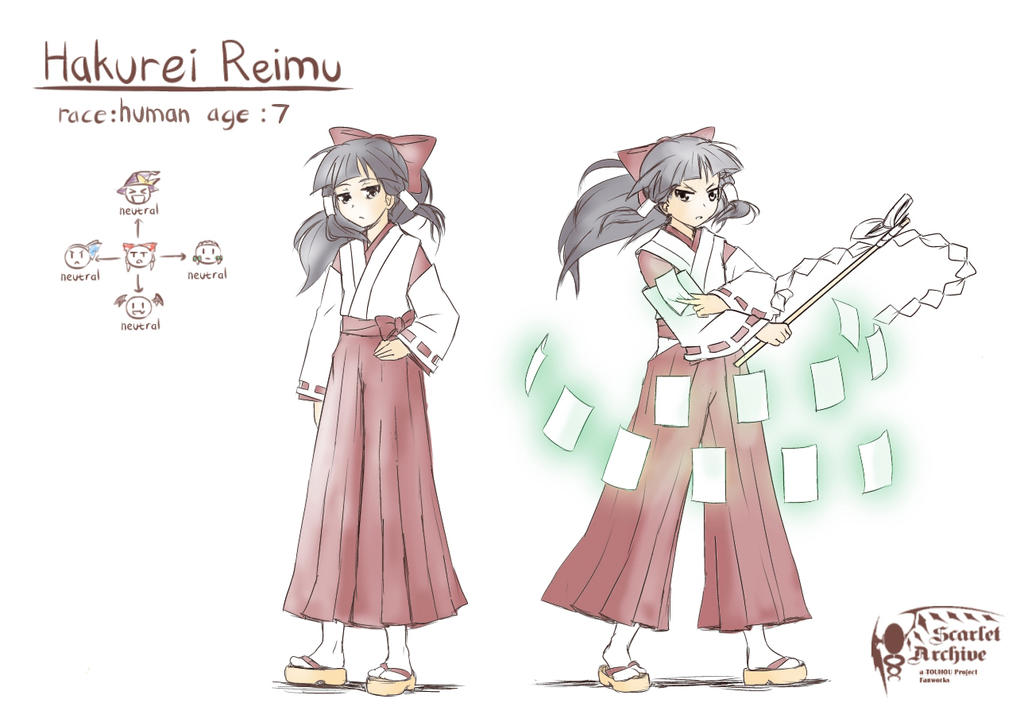 TMLGG_Character's Concept: Hakurei Reimu by void-contains-all
