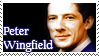 Peter Wingfield Stamp by maiamorgan