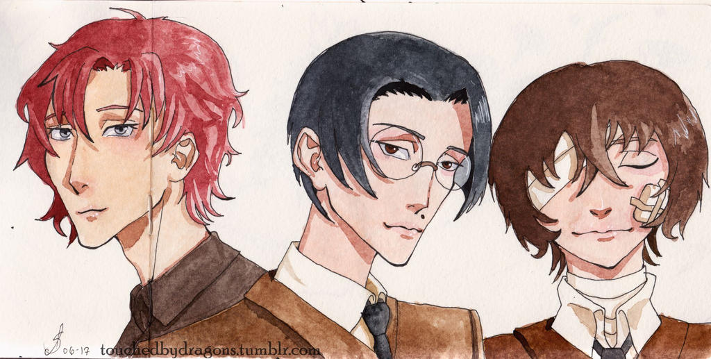 Bungou Stray Dogs Fanart by TouchedbyDragons