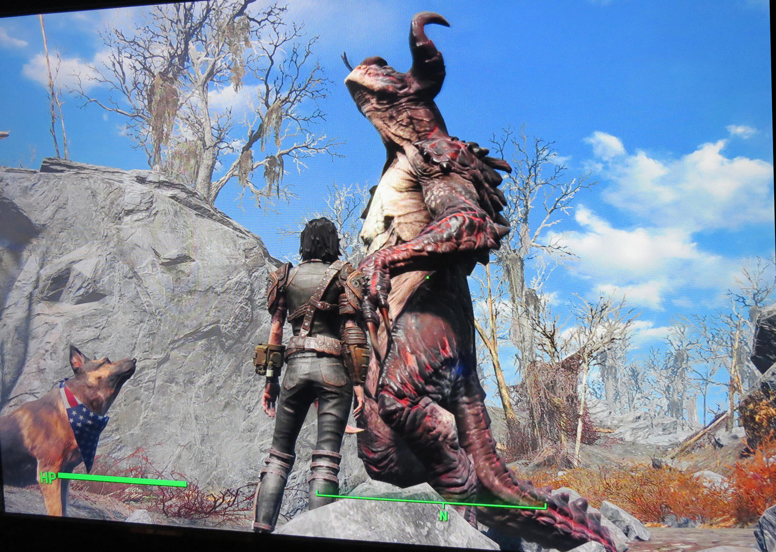 Fallout 4 Red Deathclaw