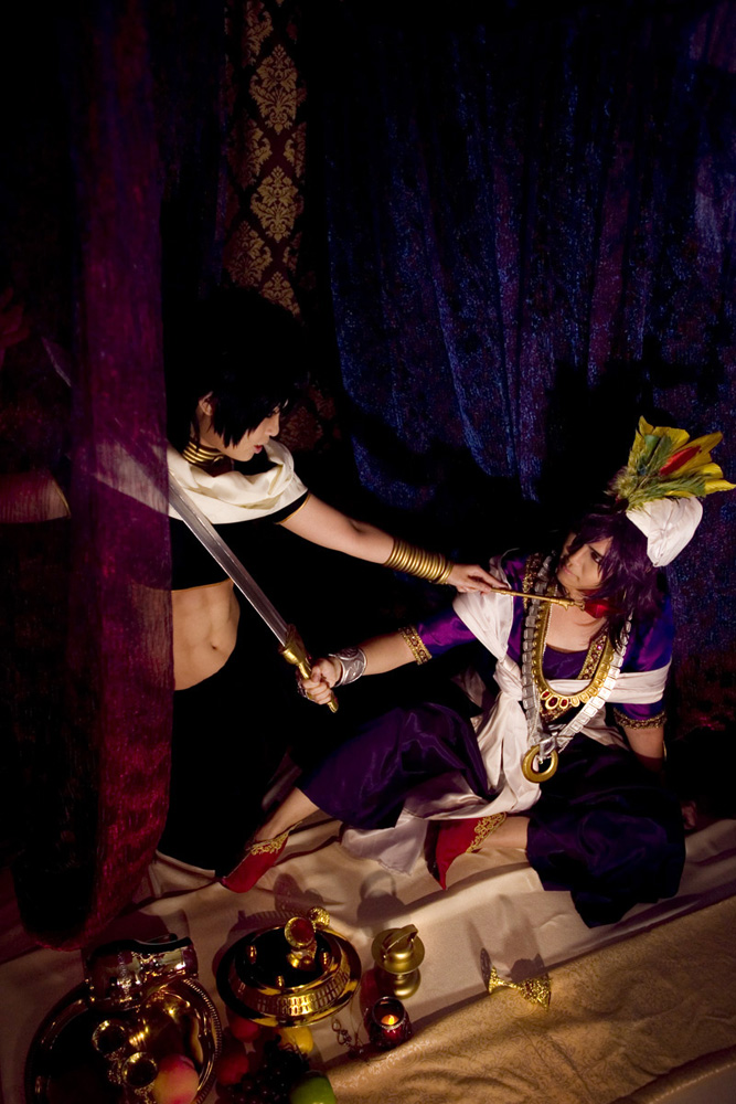 Magi ~Sinbad vs Judal~ by shuui