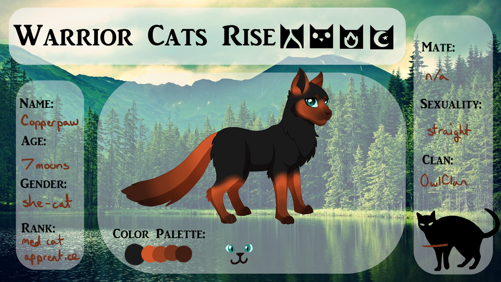 Warrior Cats Gingertail