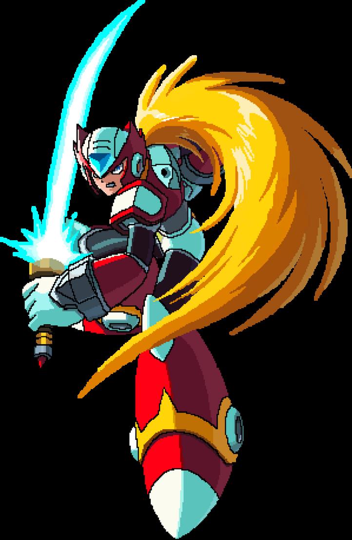 Zero Megaman X4 Zero - Megaman X4 Pixe...