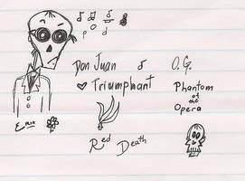 Phantom of the Opera Doodly