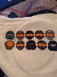 RVB Project Freelancer Cross Stitch by QuillArtist