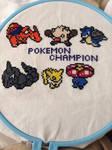 Pokemon Champion Lineup by QuillArtist