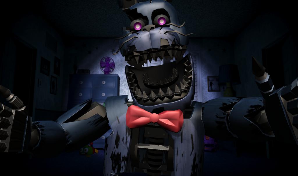 Nightmare fnaf 4