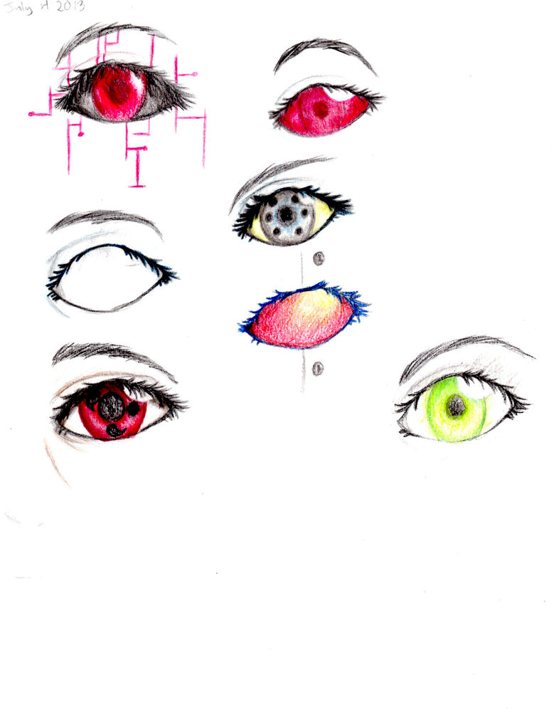 Homestuck Eyes by I-am-a-strange-loop