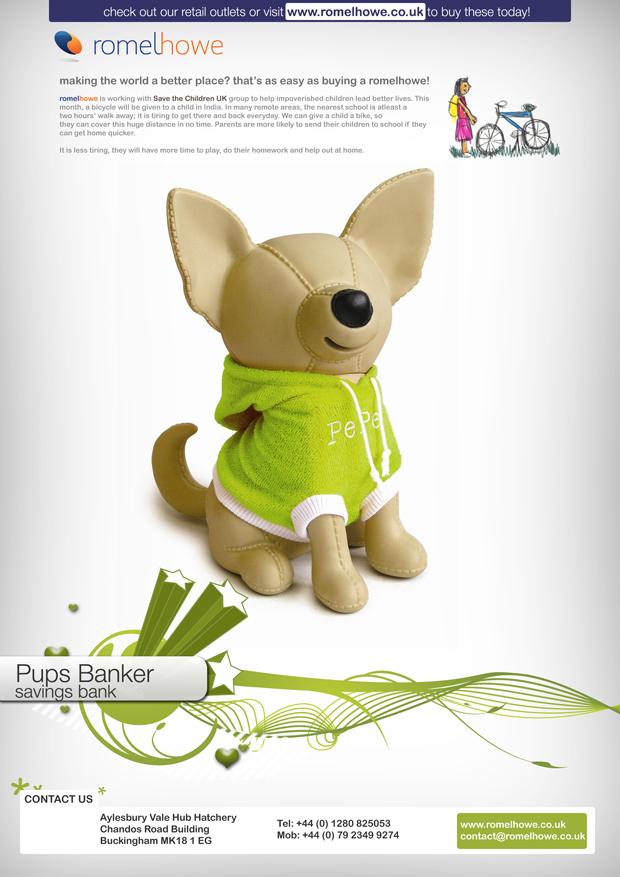 RomelHowe Flyer - Pups Banker. by vijay-dffrnt