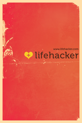 iWallpaper: thanks Lifehacker by vijay-dffrnt