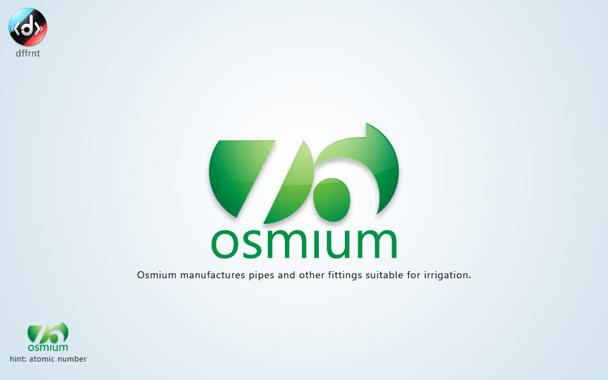 logo: Osmium by vijay-dffrnt