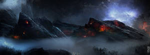 The Garnet Mountains Concept by TavenerScholar