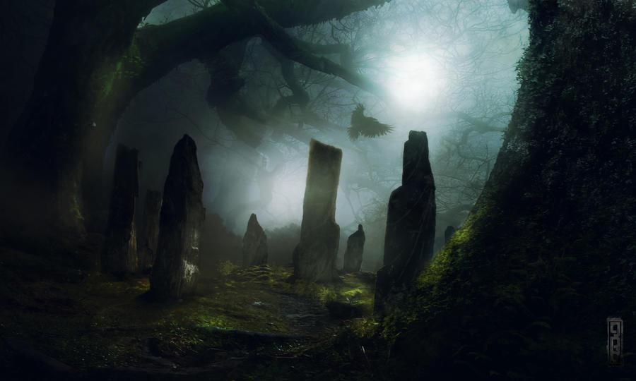 Standing Stones by TavenerScholar