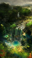 Hidden Falls by TavenerScholar