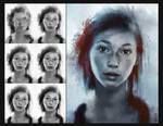Ellie Portrait Process