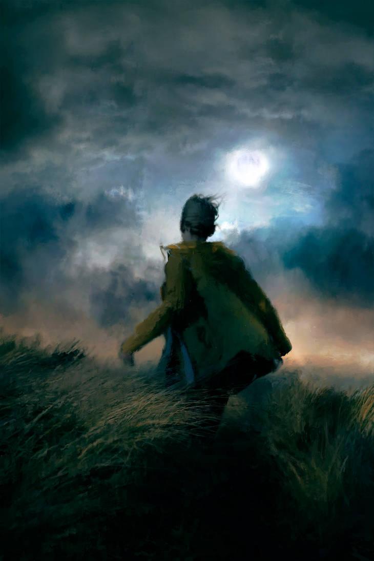 Moonrise on the Moor