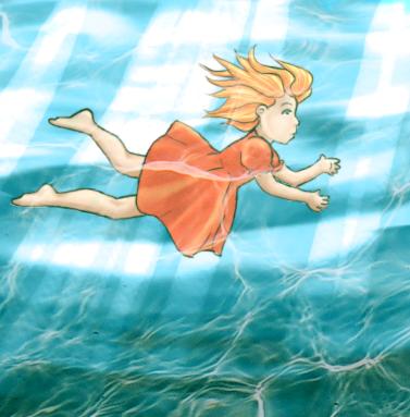 Ponyo by Vanilla-Rocket
