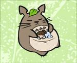 Totoro by Vanilla-Rocket
