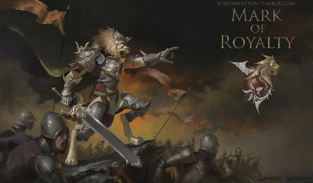 Mark of Royalty - Battle Scene by Jaasif
