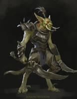 Troll: Czegnoh Blackblade by Jaasif