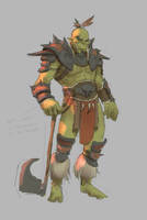 Orc 1 by Jaasif