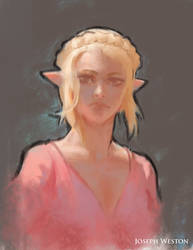 Zelda Sketch by Jaasif
