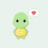 Turtle Love by LoRi-La-Tortuga