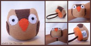 OWL WRIST PINCUSHION