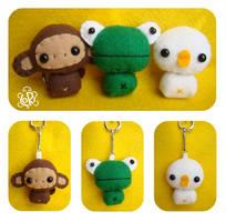 key-animals by LoRi-La-Tortuga